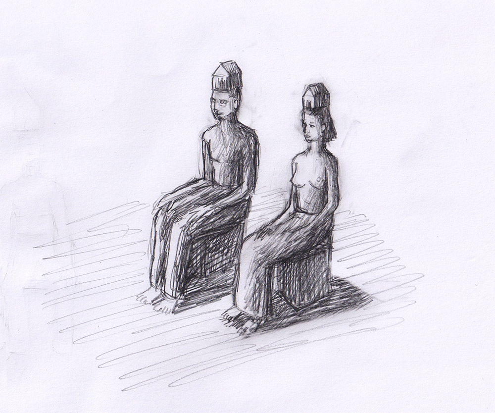 Sculpture-homme-femme